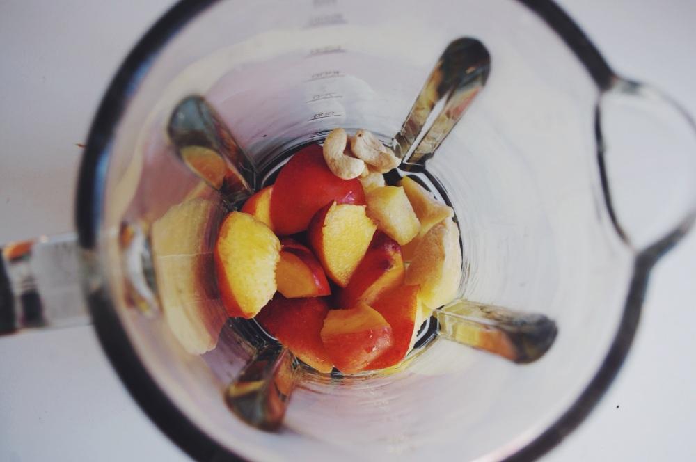 Smoothie nectarina y mango