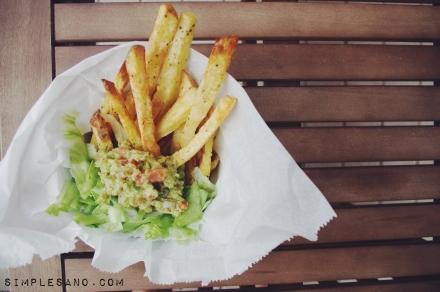 Patatas fritas al horno 1