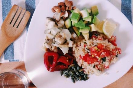 Ensalada de quinoa1