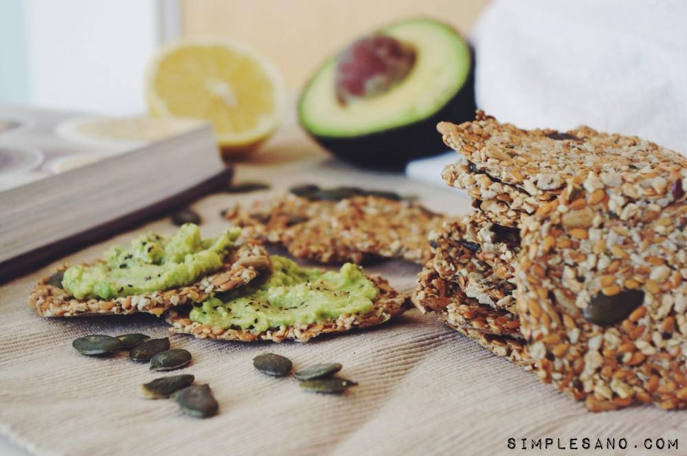 Crackers de semillas - simple&sano