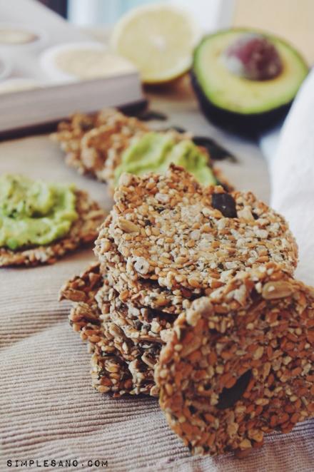 Crackers de semillas - simple & sano