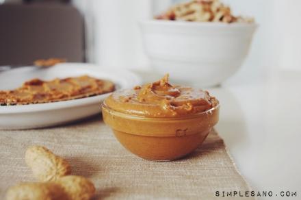 Crema de cacahuete facil