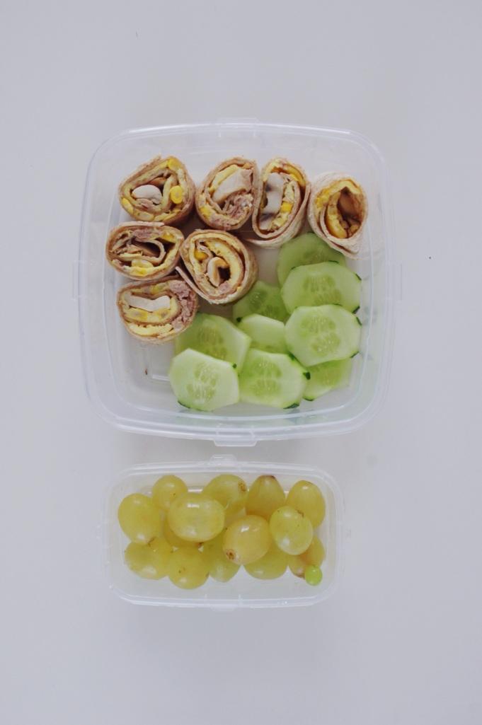 Comida sana para llevar - simple y sano