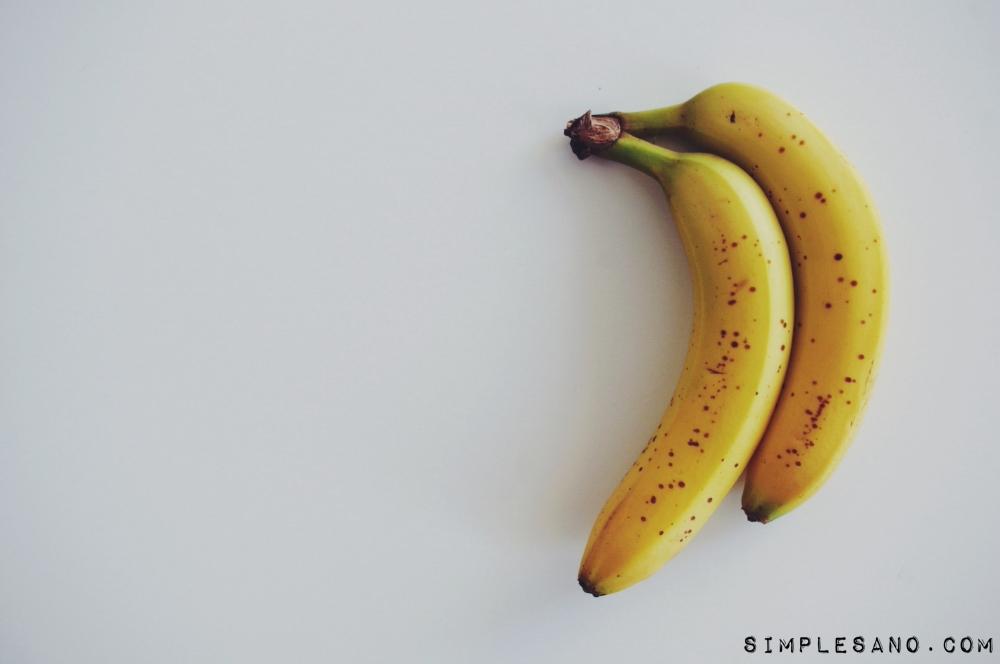 Plátano maduro - simple & sano