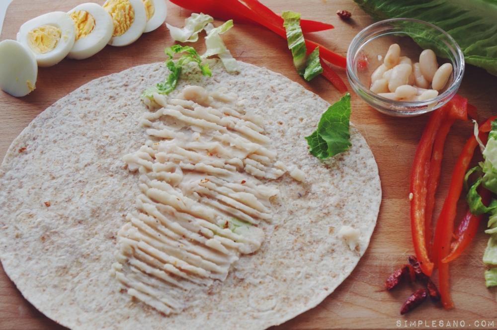 Wrap vegetal - simple y sano