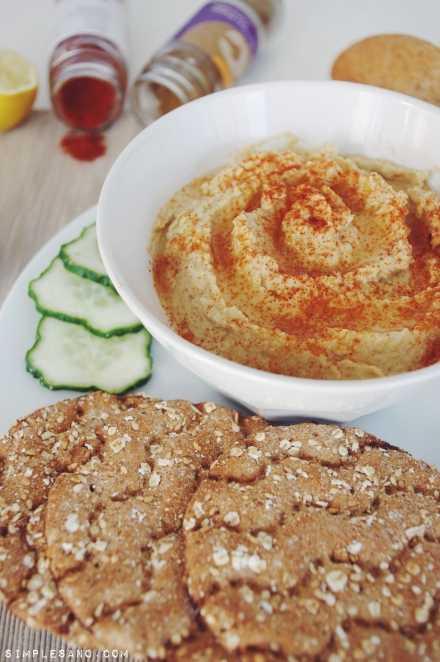 Hummus simple-y-sano