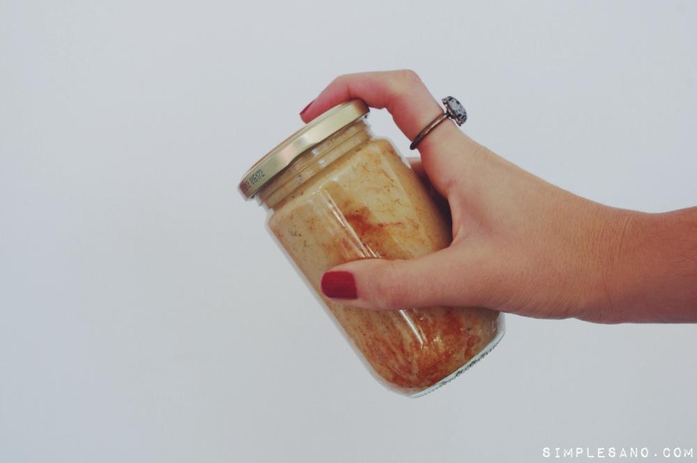 Hummus simple-y-sano para llevar