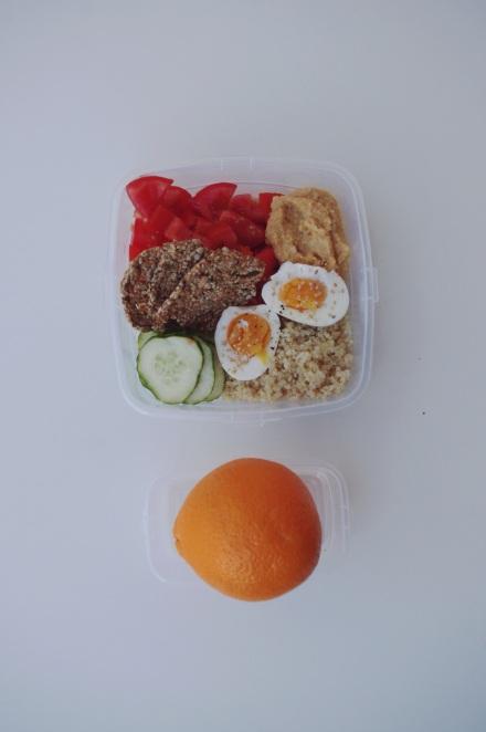 Comida fácil y sana para llevar