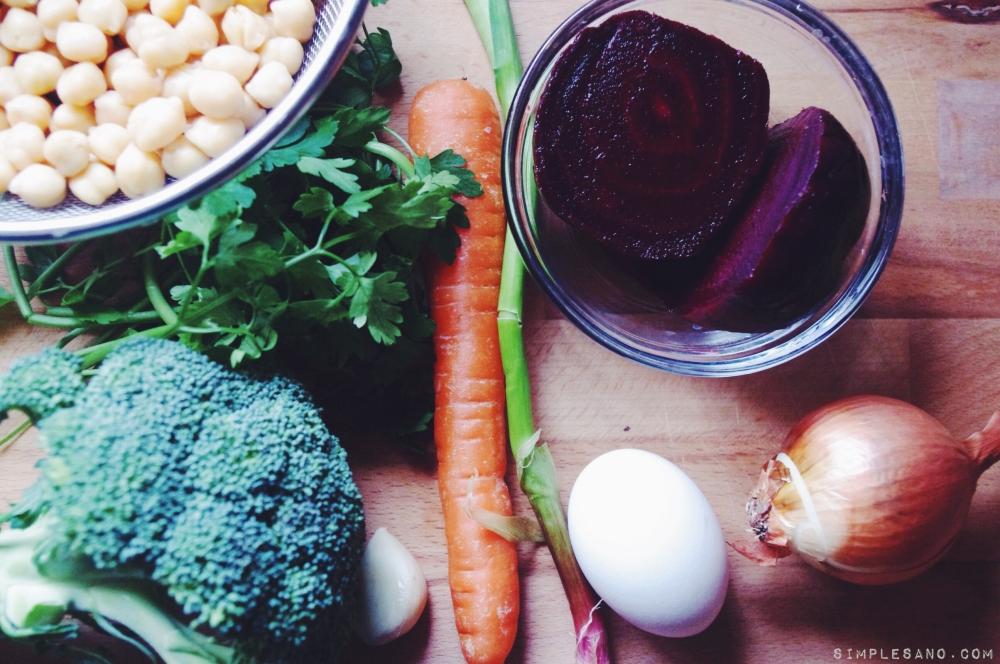 hamburguesas vegetales - simple&sano